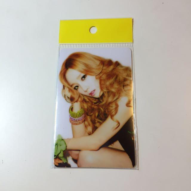 少女時代太妍悠遊卡貼