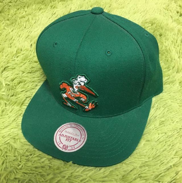 綠色 SNAPBACK 後扣帽