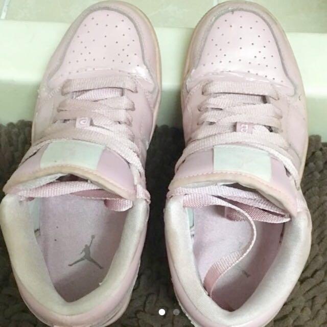 ✨正版✨AIR JORDAN櫻花粉球鞋