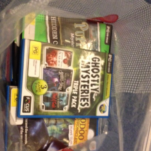 Bag Of Assorted PC Hidden Object Games