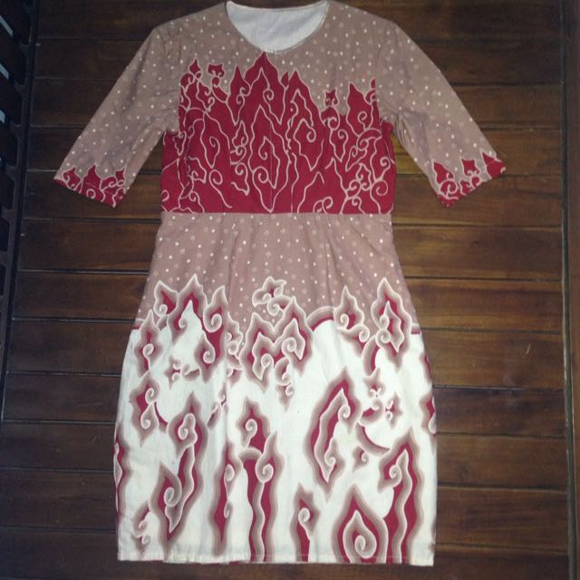 Batik Dress Megamendung