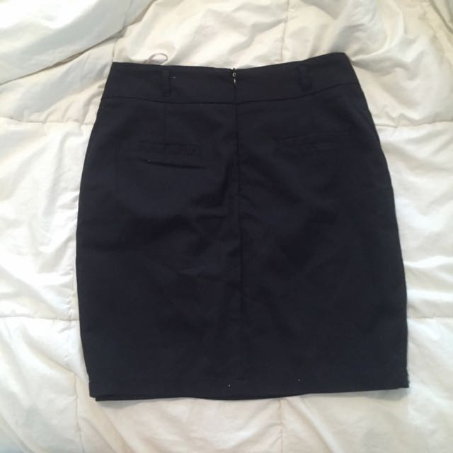 ❤️Black Work Skirt