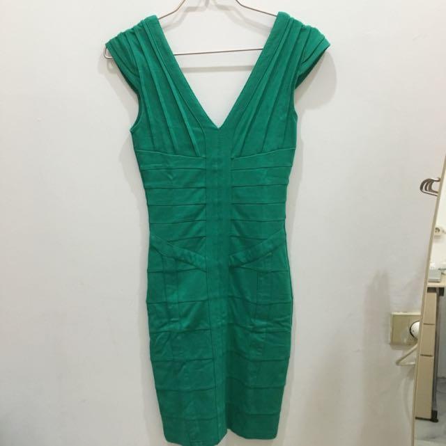 Bodycon Dress Hijau