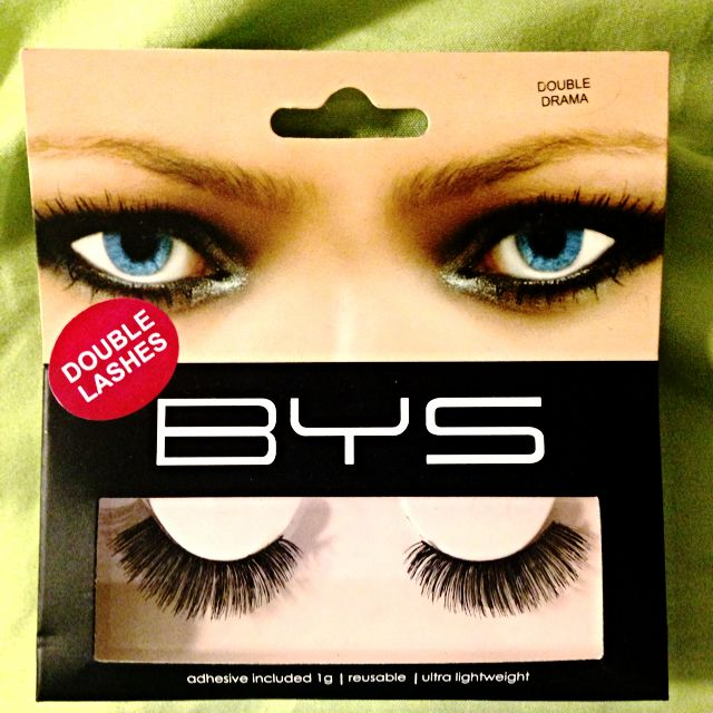 BYS Fake Lashes (Double Lashes)