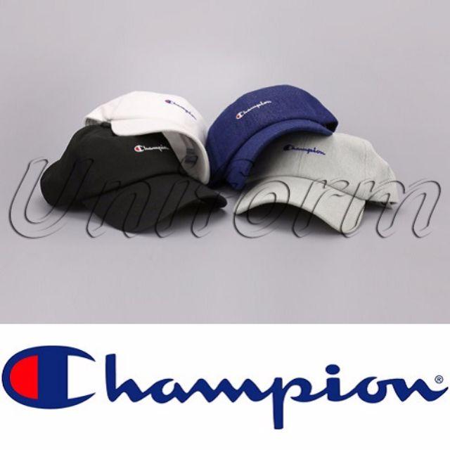Champion 草寫 冠軍 Snapback 棒球帽 鴨舌帽 高爾夫球帽 老帽 日系