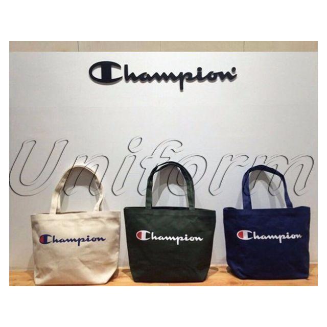 Champion Logo Bag 冠軍 大容量 38x31 托特包 環保袋 手提包 購物袋 雙面印刷 復古 古著 日系