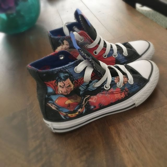Converse Chucks Superman Limited Addition