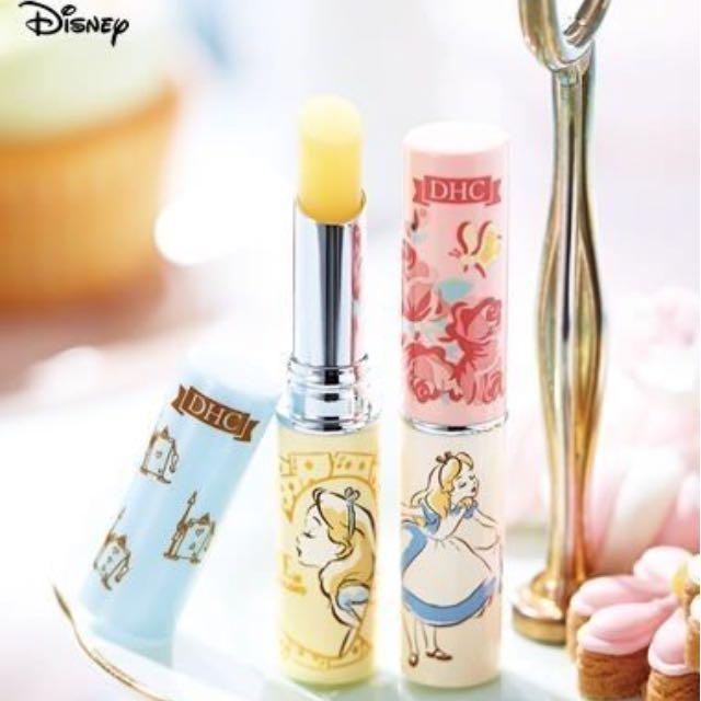 售完🇯🇵DHC disney 愛麗絲純橄欖護唇膏迪士尼公主