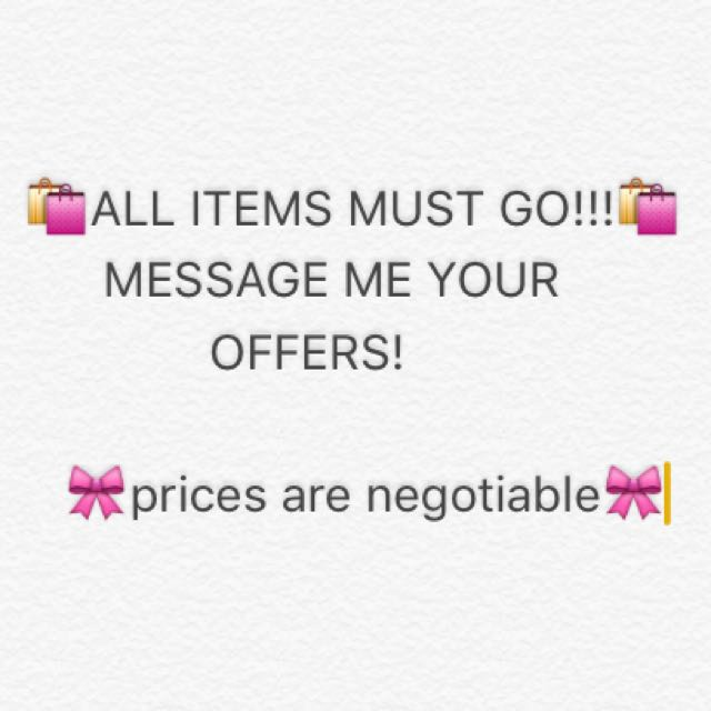 🛍EVERYTHING MUST GO!!!🛍