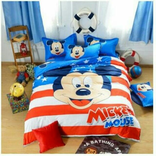 Fitted Bedding Sets Quilt Cover Bed Sheet Pillowcase