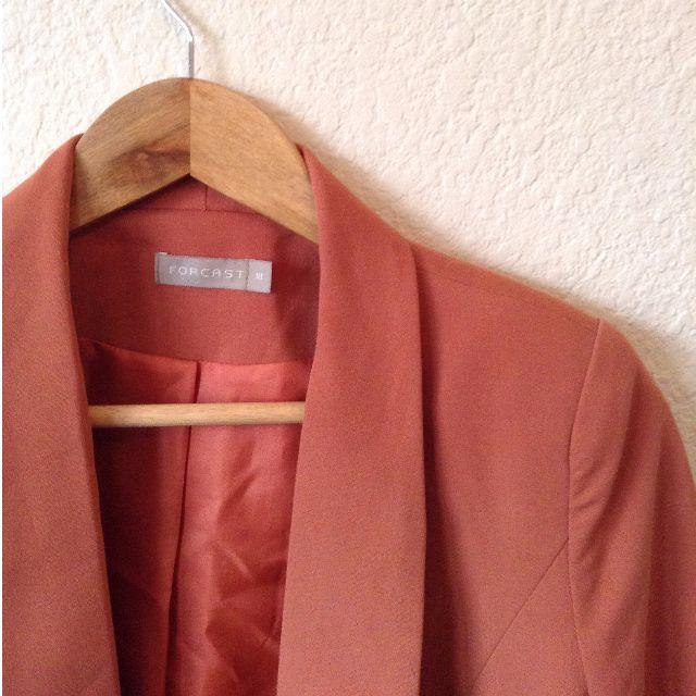 Forcast Orange Blazer