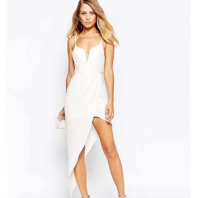 Ginger Fizz Asymmetric Dress