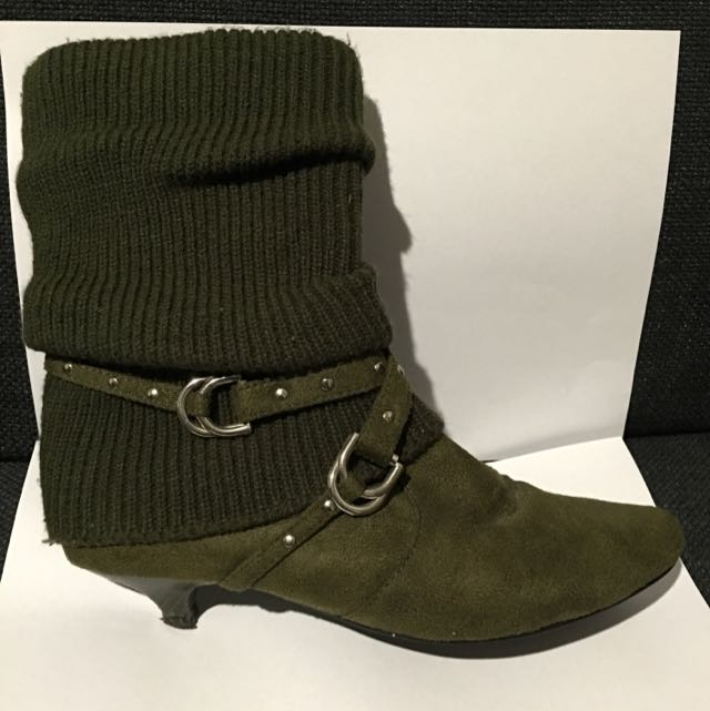 Gorgeous Green Boots!