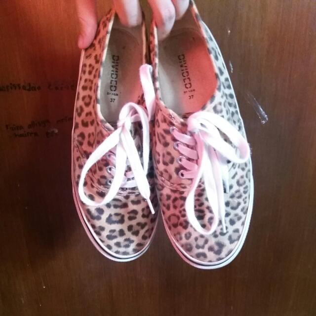 H&M Leopard Print Shoes