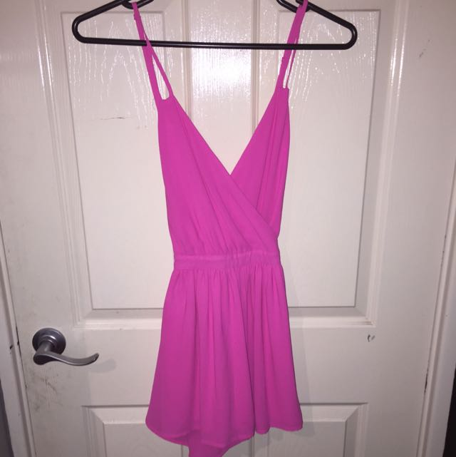 Hot Pink Playsuit 💕