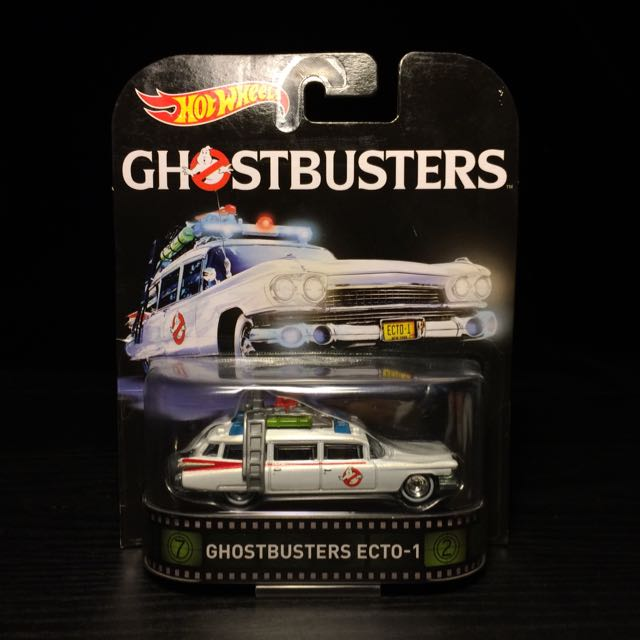 Hot Wheels Ghostbusters 魔鬼剋星 風火輪