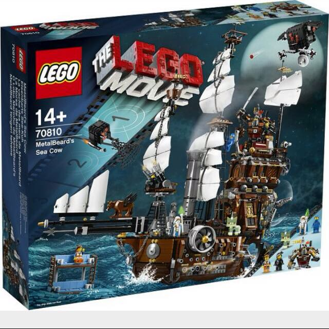 RESERVED-Lego Metalbeard's Sea Cow 70810