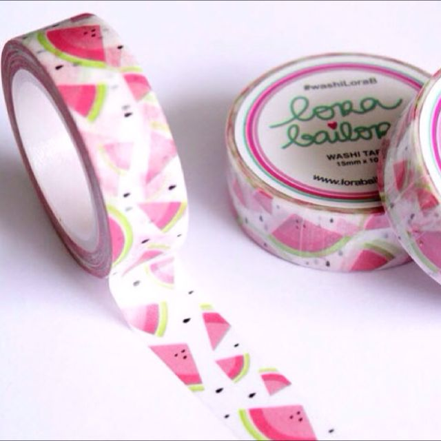 Lora Bailora - Watermelon Washi