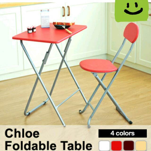 NEW Arrivlas! Chole Table and chair/Household/Sale/Cheap  Table/Singapore/Home/Fast/Cheap/saving