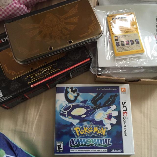 Nintendo 3DS XL - HYRULE edition