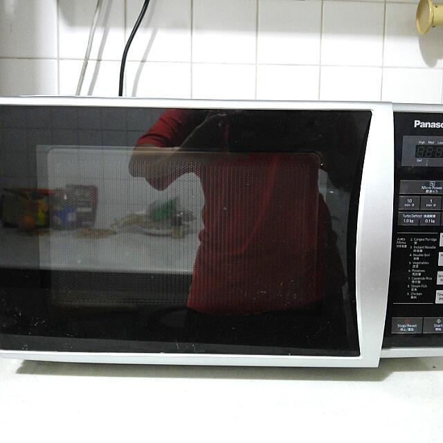 Panasonic Microwave (Complete Set With Box)