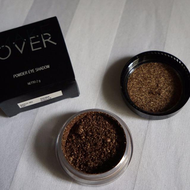 Preloved Make Over Eye Shadow Powder GOLDEN ATTACK (used)