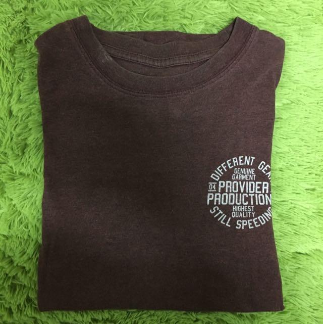 PROVIDER 酒紅 T Shirt