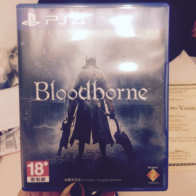 [ps4]血源詛咒Blood borne(中英文)/700元 (含初回限定下載特典)
