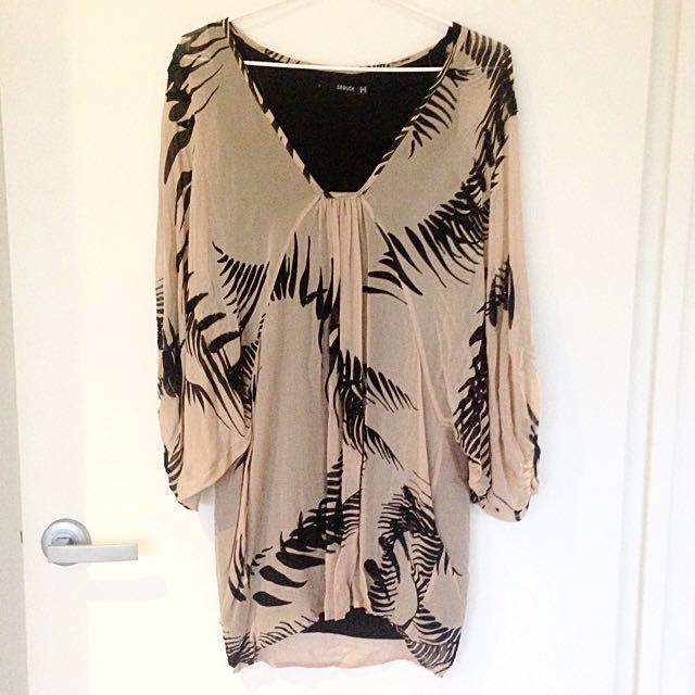 SEDUCE 100% Silk Evening Dress Size 8
