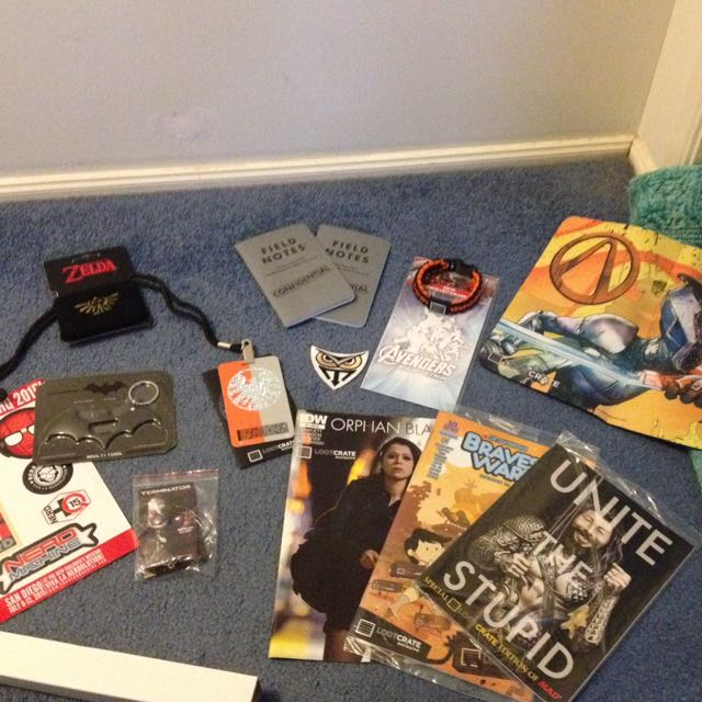 Selection Of Loot Crate Things