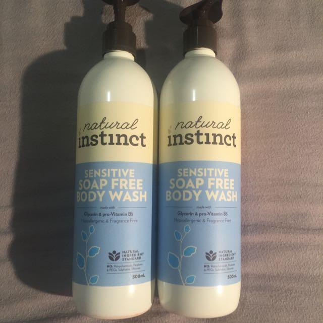 Sensitive Soap Free Body Wash