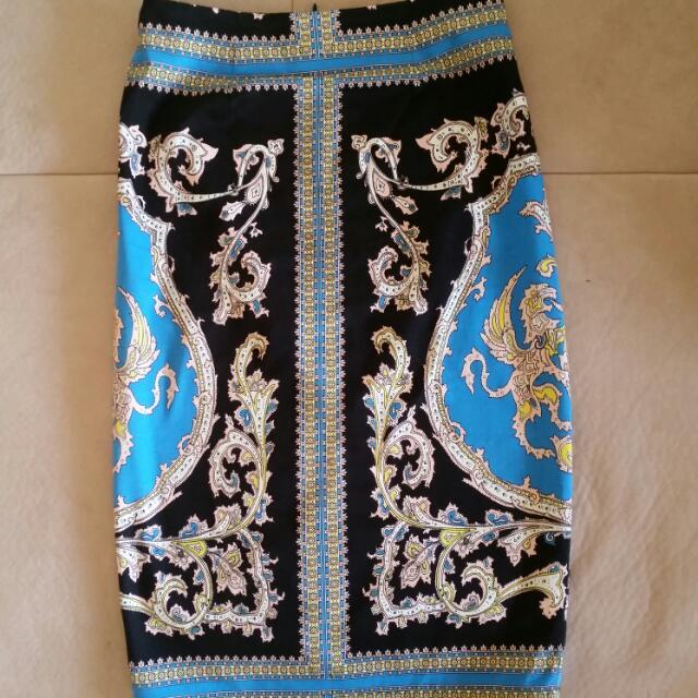 Shona Joy Size 6 Midi Skirt