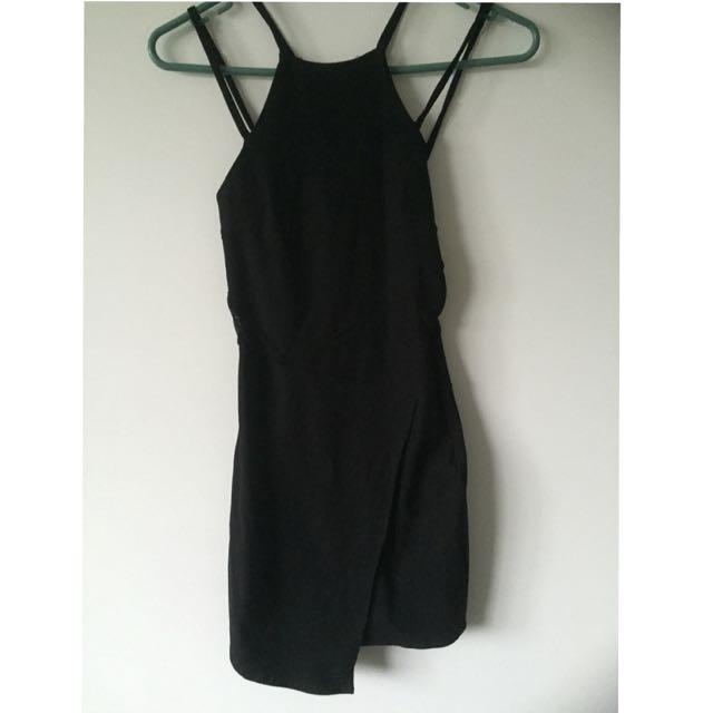 Size S Black Party Dress