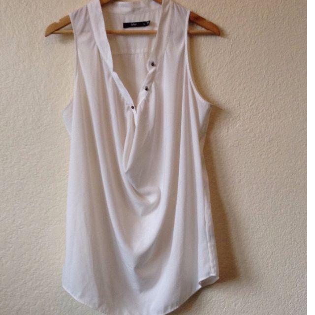 Sportsgirl white tank shirt