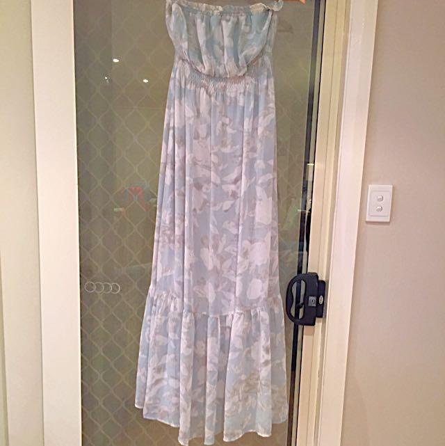 Strapless Maxi Dress Size M