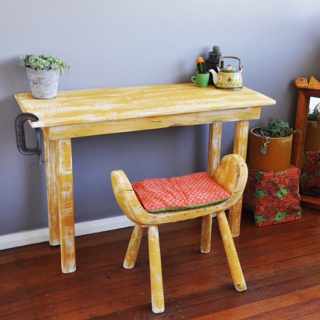 Vintage Desk – Pallet Project