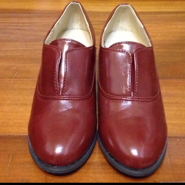 Vivan&miss牛津低跟包鞋