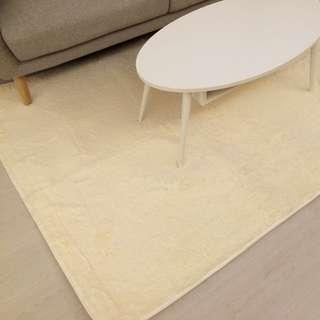 Rectangular Furry Carpet For Sale
