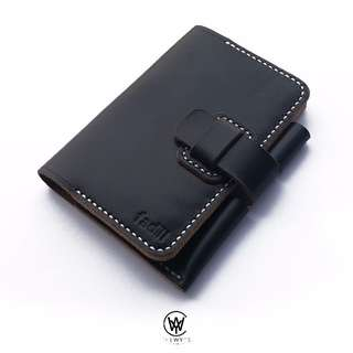 Handmade Genuine Full Grain Leather Passport Cover | Handcrafted | Handstitched | D37