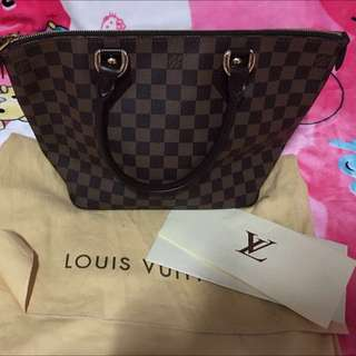 LV Bag Condition 9/10 Just Use 2 Times Just Like A Brand New Bag
