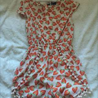 Paper Heart Play Suit