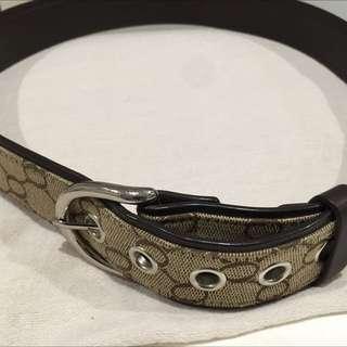 Oroton belts x2 Leather