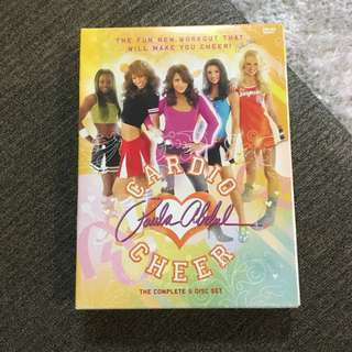 Paula Abdul Cardio Cheer DVD Exercise Set