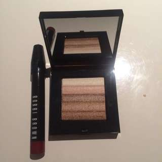 NEW Bobbi Brown Art Stick Cassis And Shimmer Brick Beige