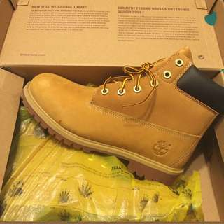 Timberland 經典黃靴 全新真品