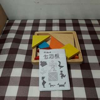 木製七巧板(二手)
