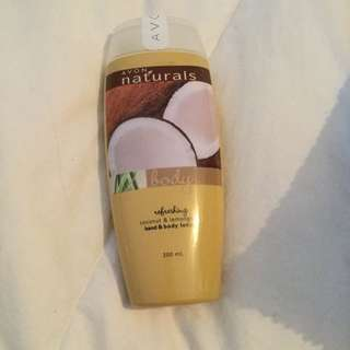 Avon Coconut And Lemongrass Hand And Body Lotion 200ml