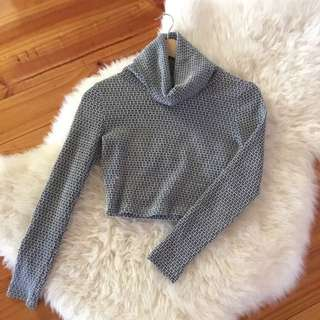 Sweetaeacia Turtleneck Crop Top