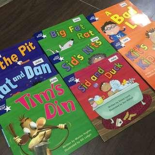 Rigby Star Phonics Readers N1,K1,K2 (45 Books)