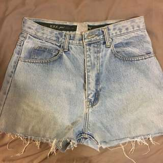Original CK denim Shorts Size 8/10
